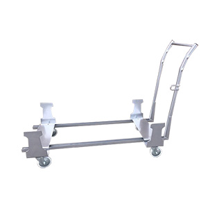 Drum bund trolley for 2 x  205 ltr drums