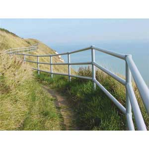 Galvanised Steel Handrail