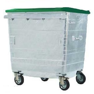 Galvanised Refuse Containers