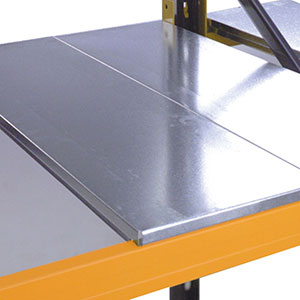Galvanised Steel Decking Panels