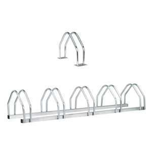 Galvanised Steel Floor Bike Racks