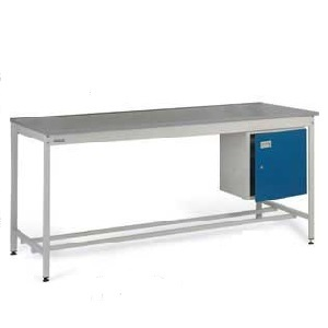Square tube Workbench, Lamstat worktop