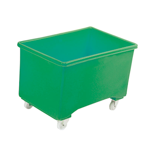 Mobile Pallet Box in 5 Colours, with or without handle