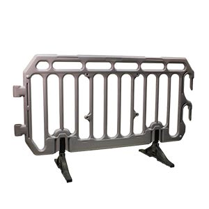 40 Plastic Crowd Crontrol Barriers Pallet with FREE UK Delivery