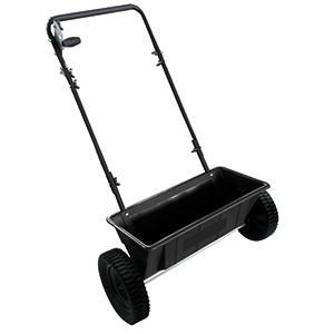 Hand Push Drop Salt Spreader 27kg Capacity with Fast FREE UK Delivery
