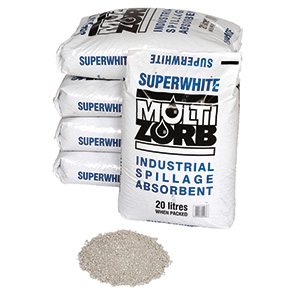 hard clay absorbent, loose granules, industrial use