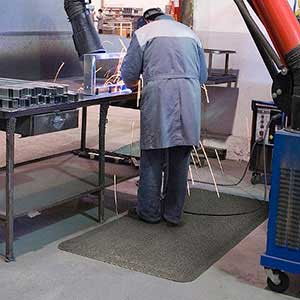 Heat Repellent Anti Fatigue Matting