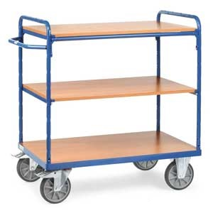 Heavy Duty 3 Shelf Trolley 600kg capacity