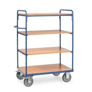4-shelf H/D Shelf Trolley