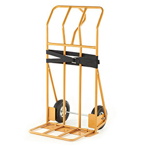 Heavy Duty 655mm wide Sack Truck with Folding Toe Plate
