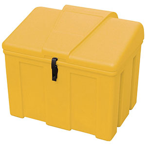 Heavy Duty Lockable 110 litre Midi Grit Bin