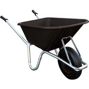 Heavy Duty Plastic Wheelbarrow