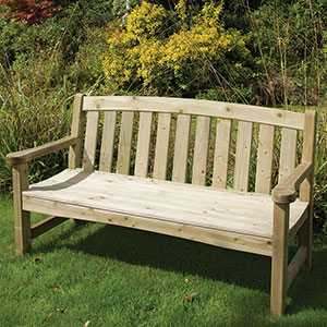 Heavy Duty Timber Bench 2 and 3 Seater