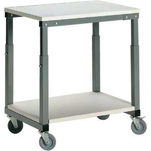 Height Adjustable Mobile Bench