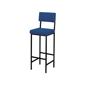High Stool with Back Support