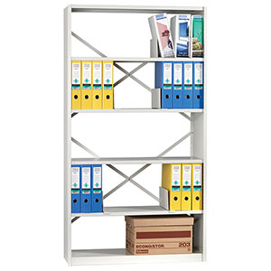 Ikon Open Shelving with 6 Shelves
