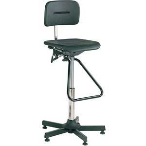 Industrial chair high lift classic with footrest