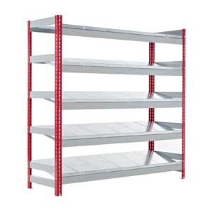 Just Kanban Shelving Bays With 5 or 6 Shelves