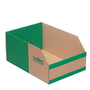 K-Bins - B Range Fibreboard Jumbo Shelf Bins (pks 25)