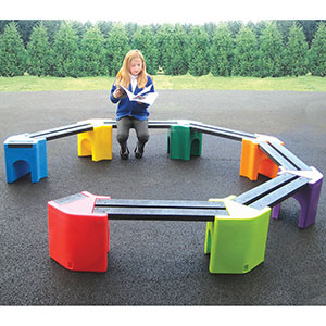 Learning Curve Childrens Bench Seat