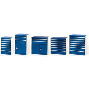 Bott Cubio Lockable Drawer Cabinets 75kg capacity per drawer