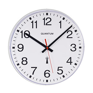 Long Lasting Plastic Wall Clocks - Radio Controlled Movement