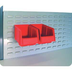Louvred panel for TPH workbenches