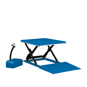 Low profile scissor table