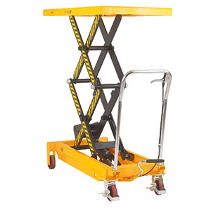 Manual Hydraulic Mobile Lifting Tables with FREE UK Delivery