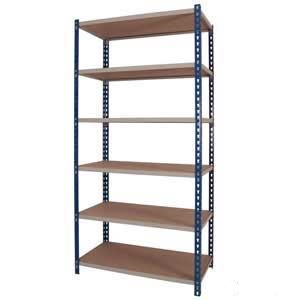 J Rivet Medium Duty Shelving - 6 Shelves 150Kg UDL