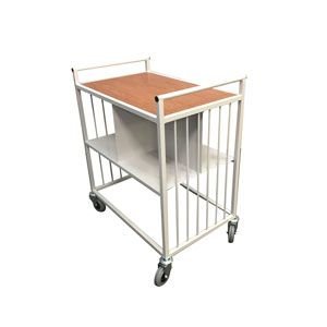 Medical recordss trolley 150kg capacity