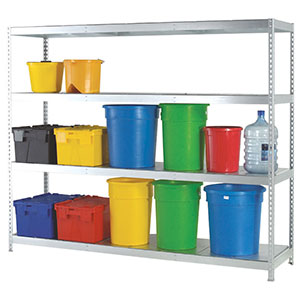 Medium Duty Boltless Galvanised Shelving