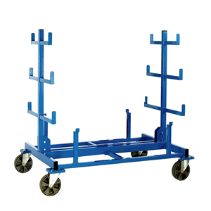 Mobile Heavy Duty Bar Storage Rack