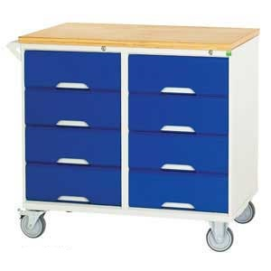 Mobile Cabinet with 8 Drawers