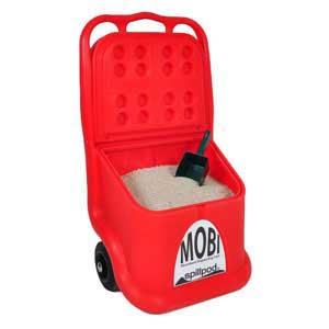 Mobile Granule Dispenser with 60 litres of absorbent