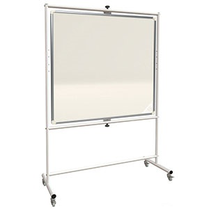 Mobile Magnetic or Non-Magnetic Pivot Whiteboards