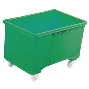 Mobile Pallet Box in 5 Colours, with Optional Handle