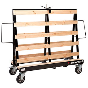 Armorgard LoadAll Mobile Board Trolley - 1500kg Capacity