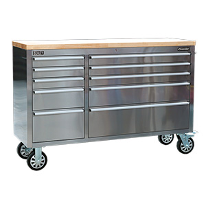 Mobile Stainless Steel Tool Cabinets