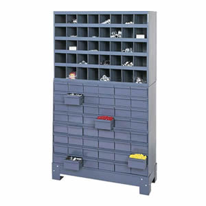 Modular Storage Systems with Metal Bins & Drawers