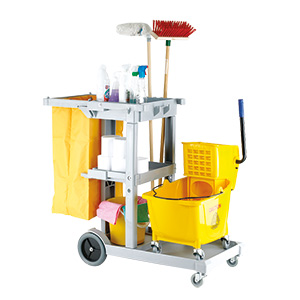 Multi-Purpose Janitorial Trolley