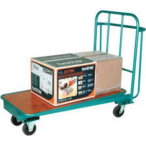 Nesting Cash and Carry trolley with 400kg capacity
