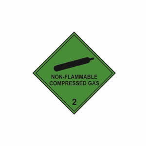 Non Flammable Compressed Gas 2