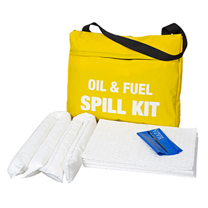 Oil and Fuel Kits in Velcro Flap Bag