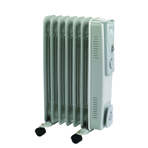Electric oil filled radiators