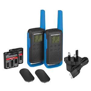 Twin Two Way Walkie Talkie and Charger