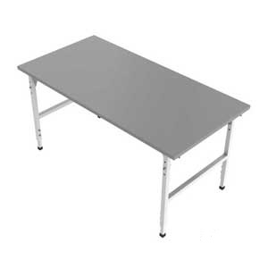 Packing Station Table height adjustable
