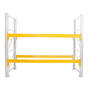 Yellow Pallet Racking Beams with FREE UK Delivery