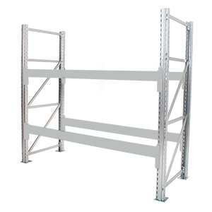Galvanised Pallet Racking Frames with FREE UK Delivery