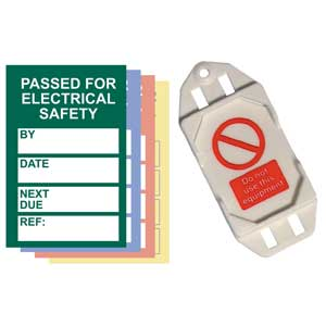 PAT Testing Mini Safety Tag Kits